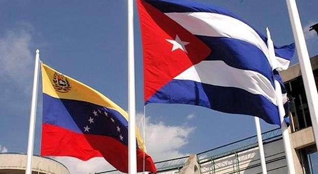 Image result for banderas cuba venezuela