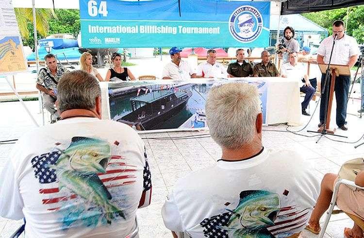 Inauguración del Torneo de Pesca Ernest Hemingw