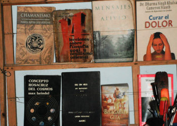 The Esoteric Library / Photo: Yisell Rodríguez Milán.