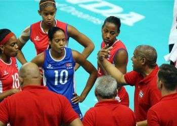 Selección cubana de voleibol femenino