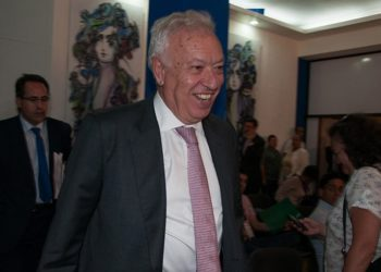 José Manuel García-Margallo in Cuba / Photo: Raquel Pérez