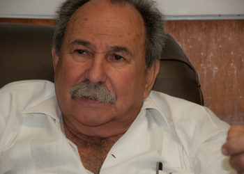 """José Fraga: """"We want to replace the majority of chemical fertilizers and insecticides within three years and also export"""" / Photo: Raquel Pérez."""