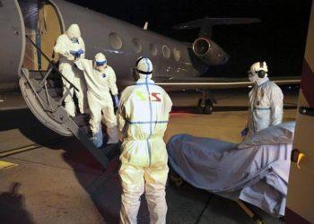 Arrival of Cuban medical Felix Baez Sarria at Geneva International Airport / Photo: Taken from Reuters.
