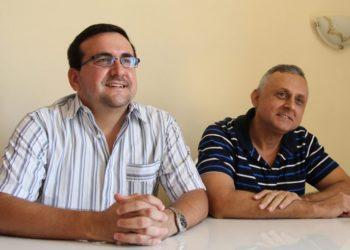 Lenier Gonzalez and Roberto Veiga / Photo: Roberto Ruiz.