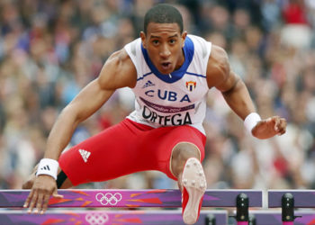 The sprinter Orlando Ortega is listed as one of the most talented hurdlers