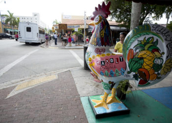 Little Havana, Miami. Photo: J Pat Carter, AP