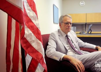 Jeffrey DeLaurentis, charge d'affaires of the US Embassy in Cuba. August 2015. Photo: Roberto Ruiz.