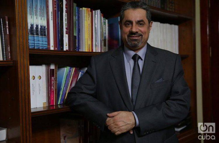 Rashid Mairza Al Mulla, ambassador of Qatar to Cuba. Photo: Gabriel Guerra Bianchini.