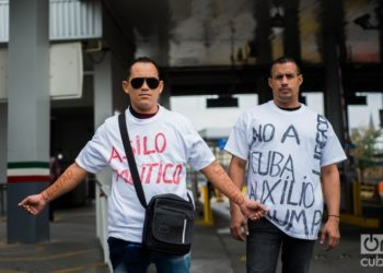 Cubans in Nuevo Laredo. Photo: Irina Dambrauskas.