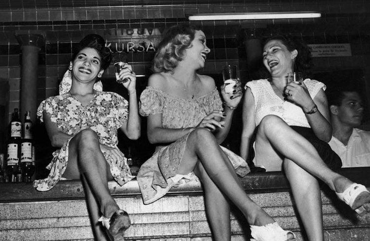 Cabaret Kursal, Havana, 1950s. Photo: Herbert C. Lanks/FPG/Hulton Archive/Getty Images.