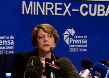 Maria Grazia Giammarinaro. Photo: Joaquín Hernández/Trabajadores.