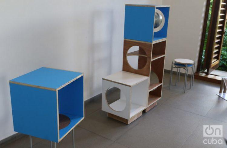 "The piece ""Cosmos"" by Amalia Martínez Caballero was the winner of the Design Havana Contest. Photo: Ismario Rodríguez."