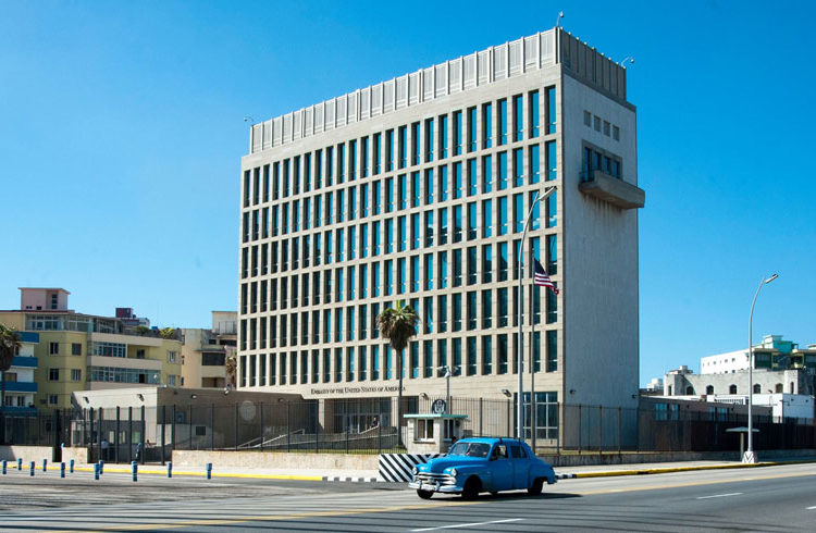Photo form US Embassy in Havana Facebook page