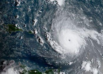 Irma Hurricane. Photo: AFP.