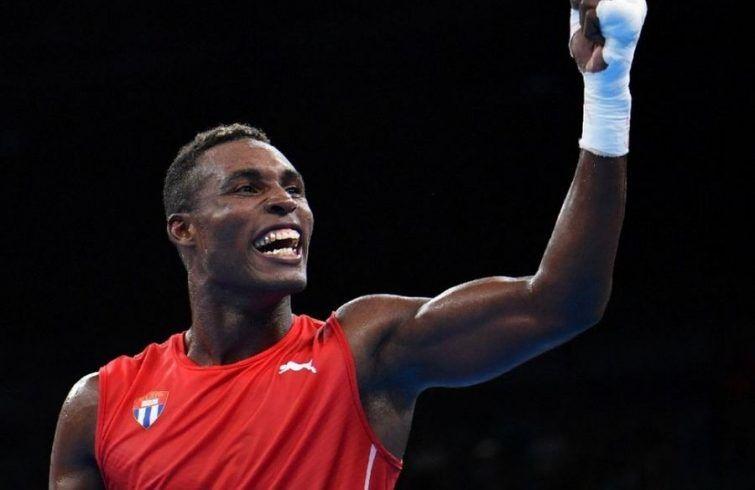 Julio César La Cruz won his fourth world gold medal. Photo: Cubasí.