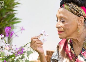 Omara Portuondo. Photo by Gabriel Guerra Bianchini