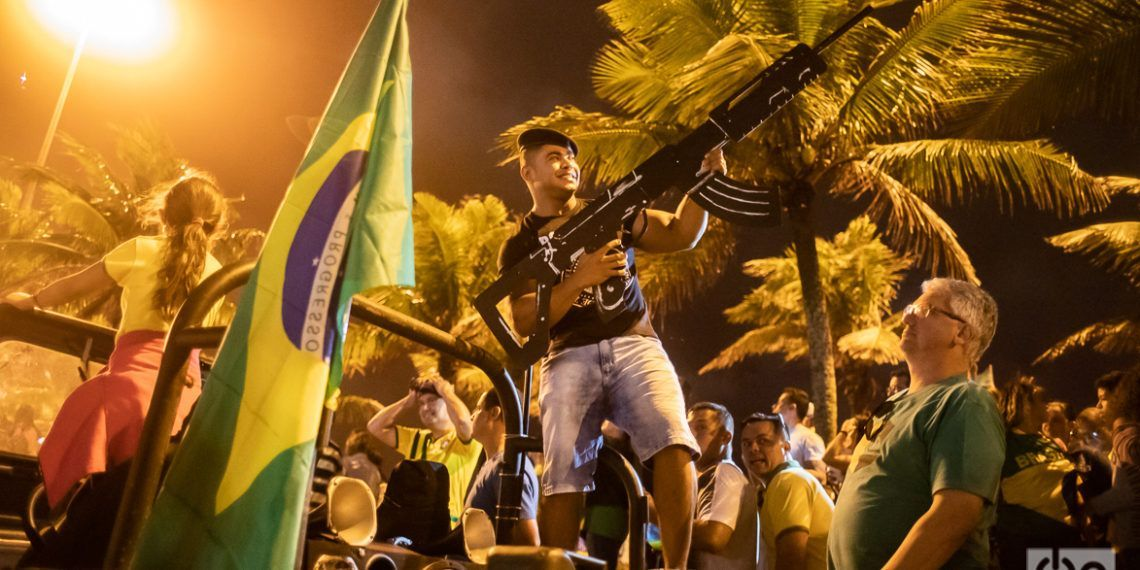 With 55.1 percent of the votes, ultra-right ex-military Jair Bolsonaro became the president of Brazil. Photo: Nicolás Cabrera.
