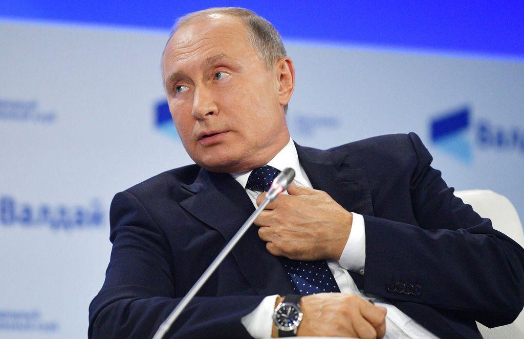Russian President Vladimir Putin. Photo: Alexei Druzhinin / Sputnik / Kremlin pool via AP.