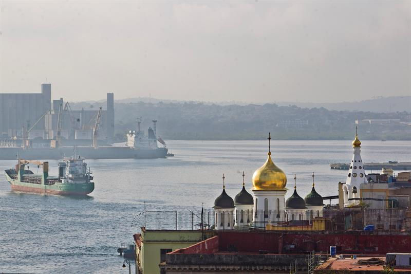 The port of Havana. Photo: Yander Zamora / EFE.
