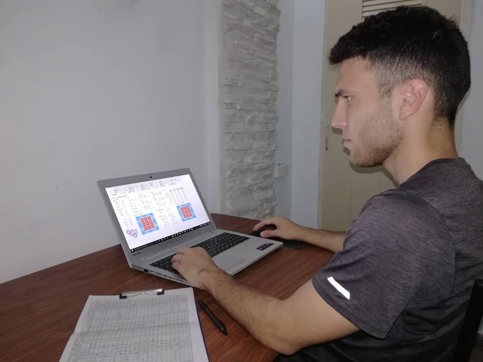 Alfredo Ríos working with his Strike Zone program. Photo: Taken from Juventud Rebelde