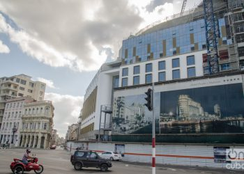 Hotel Prado y Malecón, under construction in Havana. Photo: Kaloian