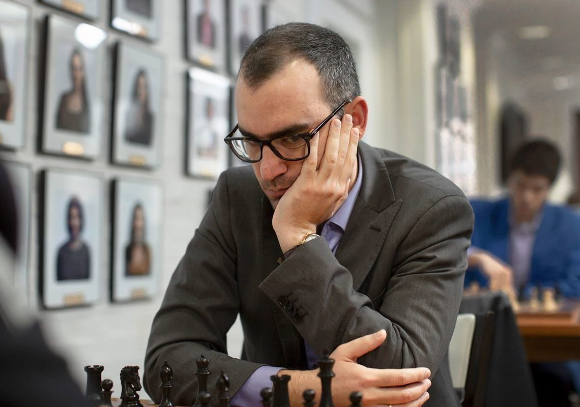 After his reappearance in the classic games during the U.S. National Championship, Leinier Domínguez has maintained a very high level in the Russian League, defending the flag of the Saint Petersburg Bronze Horsemen. Photo: Justin Kellar/Saint Louis Chess Club.