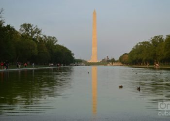 Washington Monument in the U.S. capital. Photo: Marita Pérez Díaz.