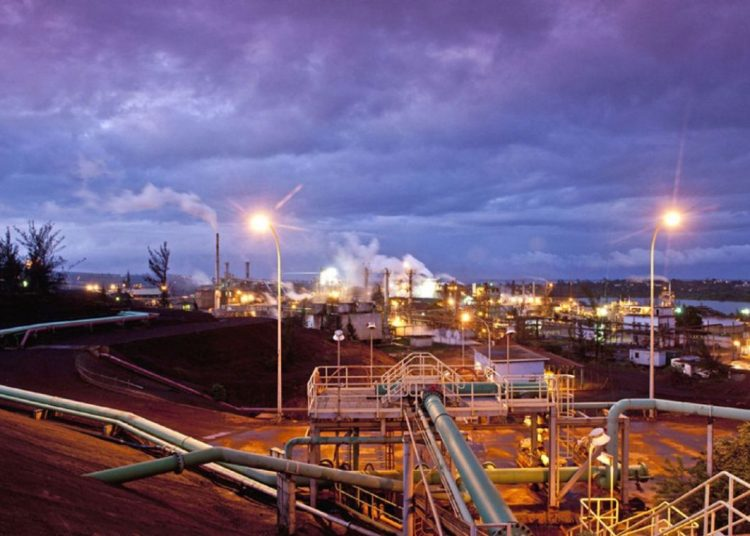 Moa Plant JV. Photo: Sherritt International.