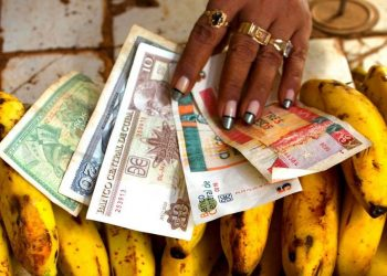 Cuban convertible pesos and regular pesos. Photo: Ramón Espinosa / AP.