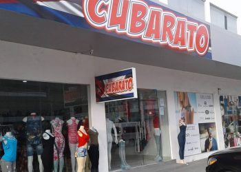 The Cubarato store, one of many specially aimed at Cubans in the Panama Canal Duty-Free Zone. Photo: @cubaratoZL / Facebook.