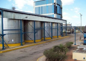 Alficsa produces alcohols necessary for the pharmaceutical and perfume industries, and for the production of rums. Photo: Modesto Gutiérrez / ACN.