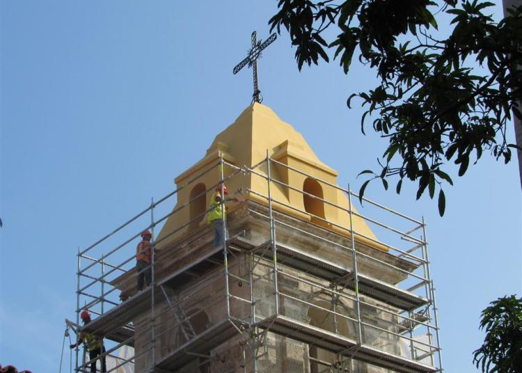 As of November the public will be able to appreciate the restoration works in the former Convent of Santa Clara. Photo: habanaradio.cu