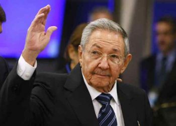 The then Cuban President Raúl Castro arriving at the 70th session of the UN National Assembly in New York on January 28, 2016. Photo: Jason DeCrow/AP/Archive.