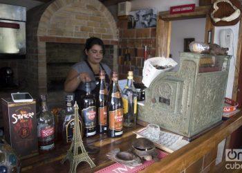 Amigos del Mar private restaurant, in Havana. Photo: Otmaro Rodríguez / Archive.