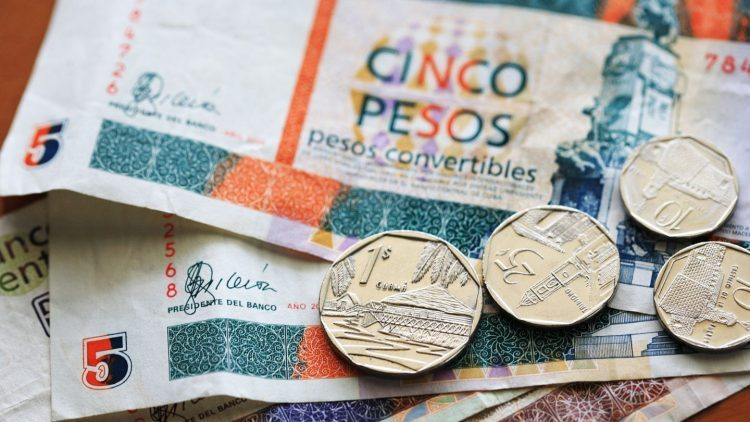 Convertible Cuban peso (CUC) coins and bills. Photo: viajejet.com