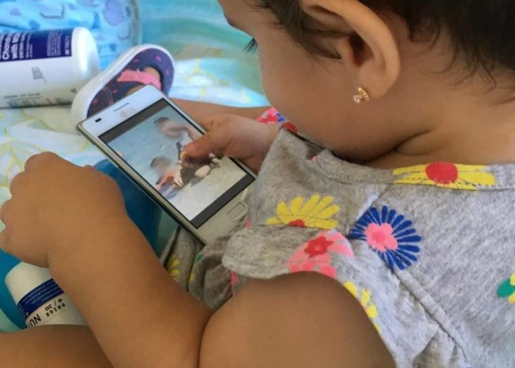 Baby girl Paloma Domínguez Caballero, who died on October 9 due to complications after being vaccinated in a polyclinic in Havana. Photo: @Yaima_cab /Instagram.