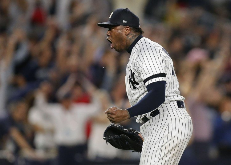 Aroldis Chapman has completed a decade of luxury as a MLB closer: 273 rescues, 883 and six All-Star Games. Photo: Yahoo.