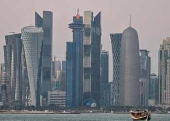 The city of Doha, capital of Qatar. Photo: AFP / Archive.