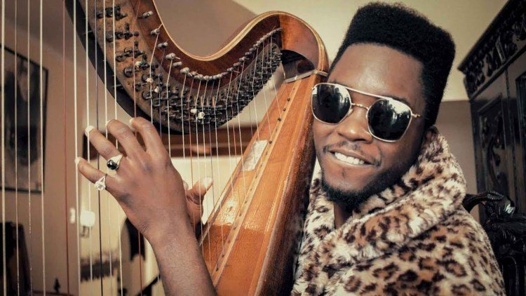 """Cuban musician Cimafunk in a frame from his video clip """"Me voy."""""""