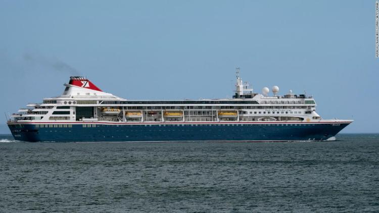 The MS Braemar ship operated by Fred Olsen Cruise Lines. Photo: Horacio Villalobos-Corbis/Getty Images/Archive.
