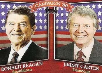 Reagan vs Carter campaign.