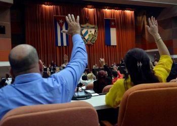 Photo: @AsambleaCuba / Twitter / Archive.