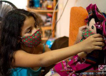 Cuba has reported 136 children confirmed with coronavirus until April 24. Photo: Otmaro Rodríguez.