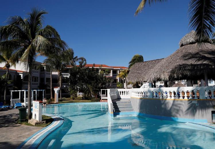 Photo from January 17, 2020 showing the facilities of the Memories Trinidad del Mar Hotel, in the city of Trinidad, in Sancti Spíritus. EFE/Yander Zamora.