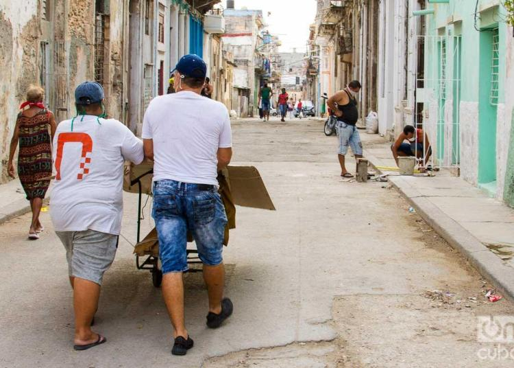 The neighborhood of Los Sitios in times of coronavirus. Photo: Otmaro Rodríguez.