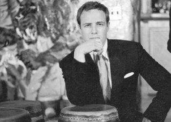 Marlon Brando at the Palladium in New York. Photo: Archive.