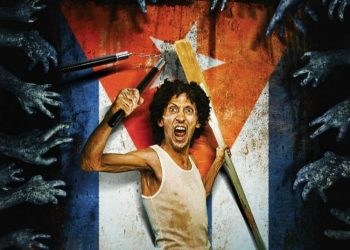 """The Cuban film """"Juan de los muertos,"""" Goya award for the best Spanish-language foreign film in 2013. Photo: fragment of the film's poster."""