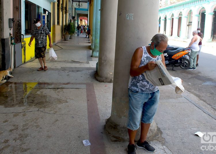 There were no deaths yesterday and 2,536 tests were processed, the MINSAP reported. Photo: Otmaro Rodríguez