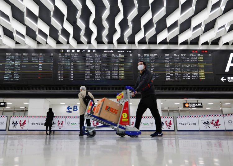Narita Airport, Tokyo. Photo taken from www.asia.nikkei.com