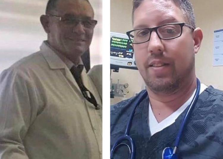 Eugenio Suárez Utria (left) and Maikel Alba Pérez, the Cuban specialists based in Ecuador who died from coronavirus. Photos taken from Facebook